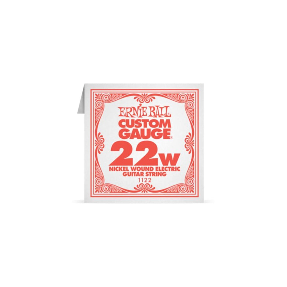 Ernie Ball 1122 Nickel  Wound 022 Electric SIngle String