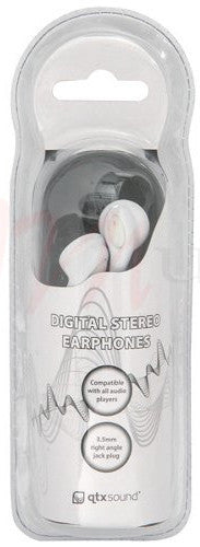 QTX 100.376 Earphones White