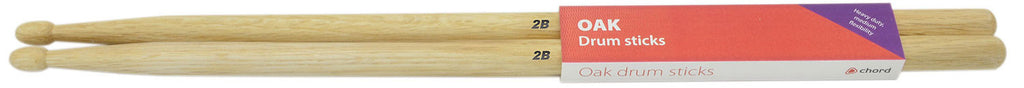 Chord 177.047 Oak Drumsticks 2B Wood Pair