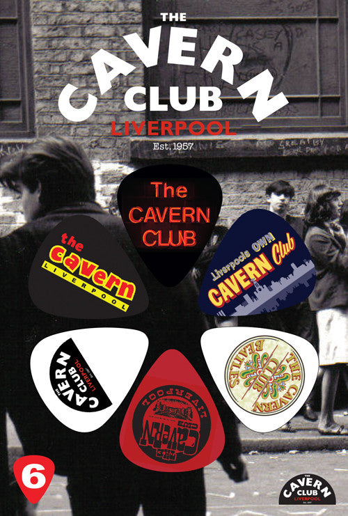 The Cavern Club Pick Pack CVP61 The Beatles Logo(6)