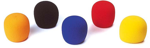 Microphone Foam Pop Covers (Mixed Colours)