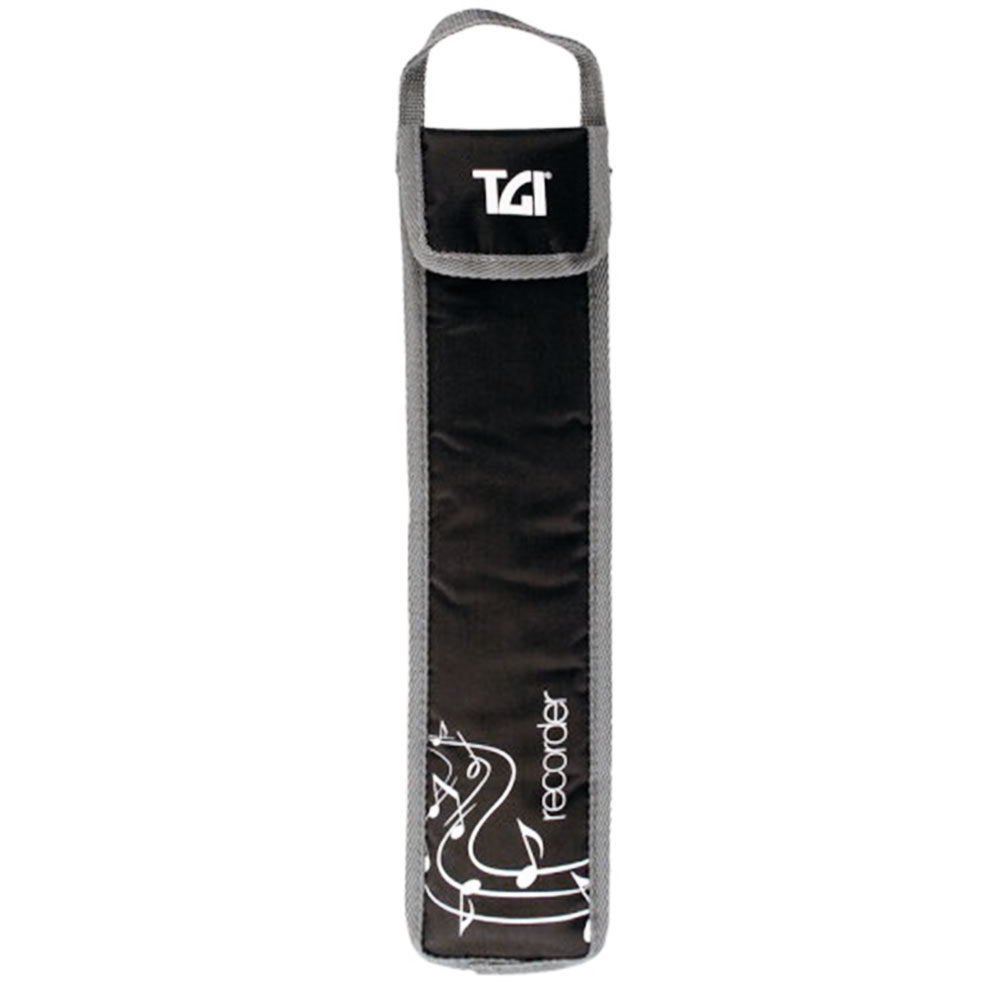 TGI TGRBBK Padded Recorder Bag Black