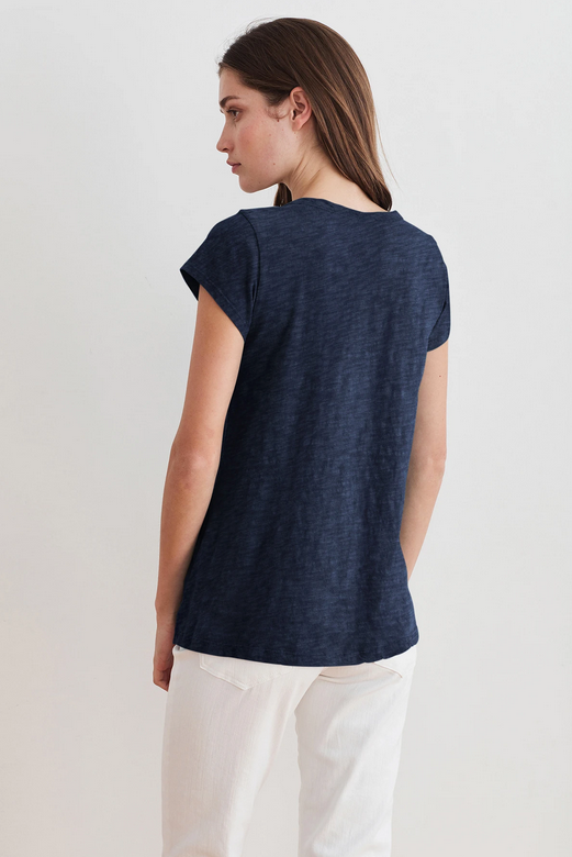 Kira Short Sleeve Scoop Neck Tee