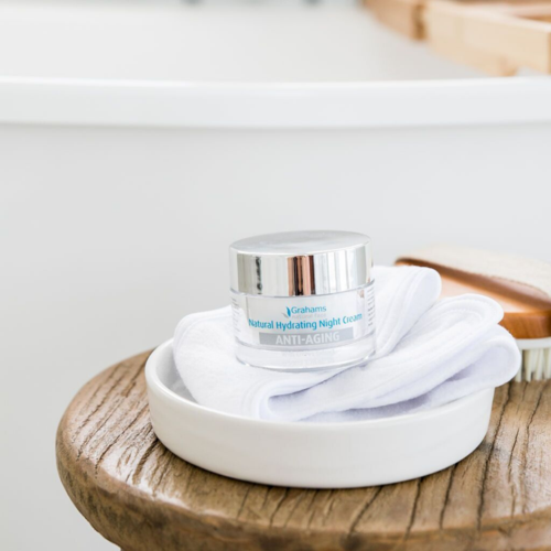 How our Hydrating Night Cream can help revitalize your skin!