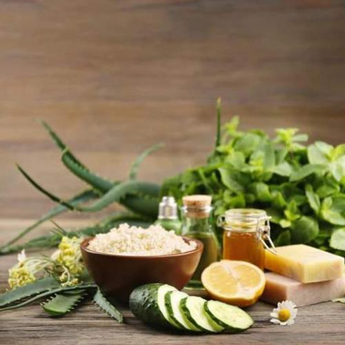 Natural ingredients for perfect skin care