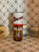 Load image into Gallery viewer, Atlanta Braves tumbler