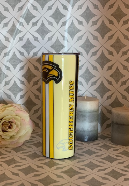 Southern Miss tumbler