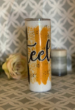 Load image into Gallery viewer, Pittsburgh Steelers glittered tumbler