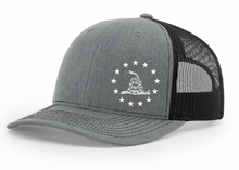 Load image into Gallery viewer, Don't Tread On Me Snapback Hat