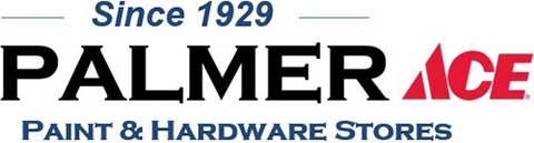 palmber paint and hardware store logo