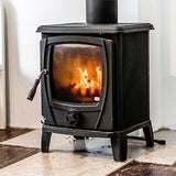 small black stove