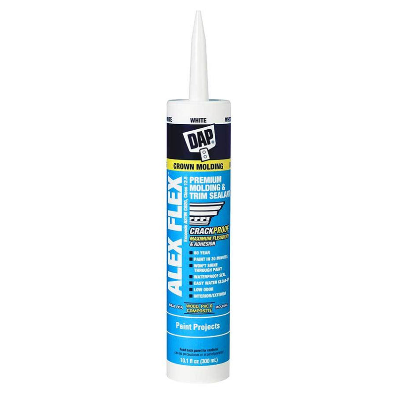 Dap Alex Flex® Premium Molding & Trim Acrylic Latex Siliconized Sealant
