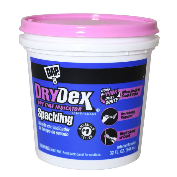 DAP DryDex® Dry Time Indicator Spackling 32fl oz Pink/White