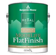 Regal® Select Exterior Paint — MoorLife® Flat Finish W105