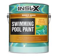 Rubber Based Swimming Pool Paint - Satin RP-27XX