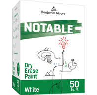 Notable® Dry Erase Paint - White 500-01
