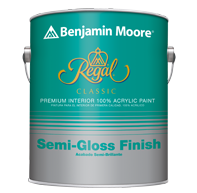 Regal Classic Premium Interior Paint - Semi-Gloss Finish 333