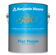 Regal Classic Premium Interior Paint - Flat Finish 215