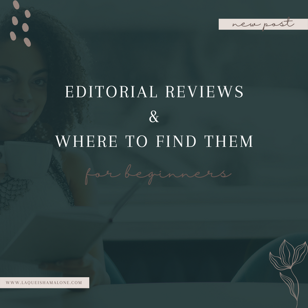 Editorial Reviews & How to Find Them