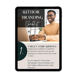 author branding and promoting