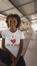 "Load and play video in Gallery viewer, ""I Love Books"" T-Shirt"