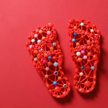 Load image into Gallery viewer, *Mother's Day!!* Anti - Slip Soles Pellet Massage Slippers