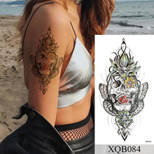 Load image into Gallery viewer, Flower Rose Flash Tattoos