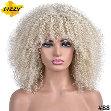 Load image into Gallery viewer, Short Hair Afro Kinky Curly Wigs