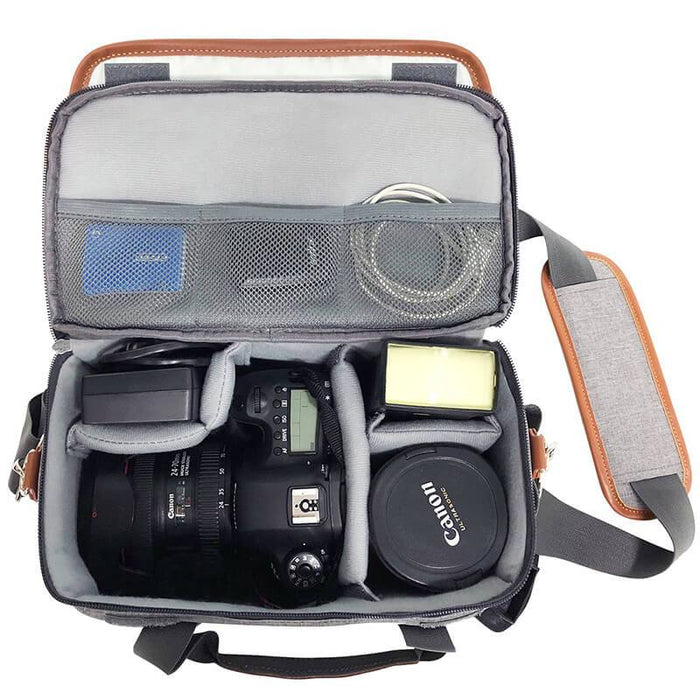 "Waterproof Camera Backpack Fits 15.6"" Laptop"