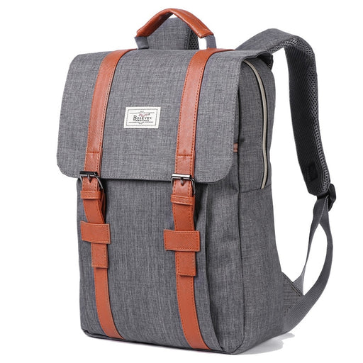 Vintage unisex Canvas Backpacks
