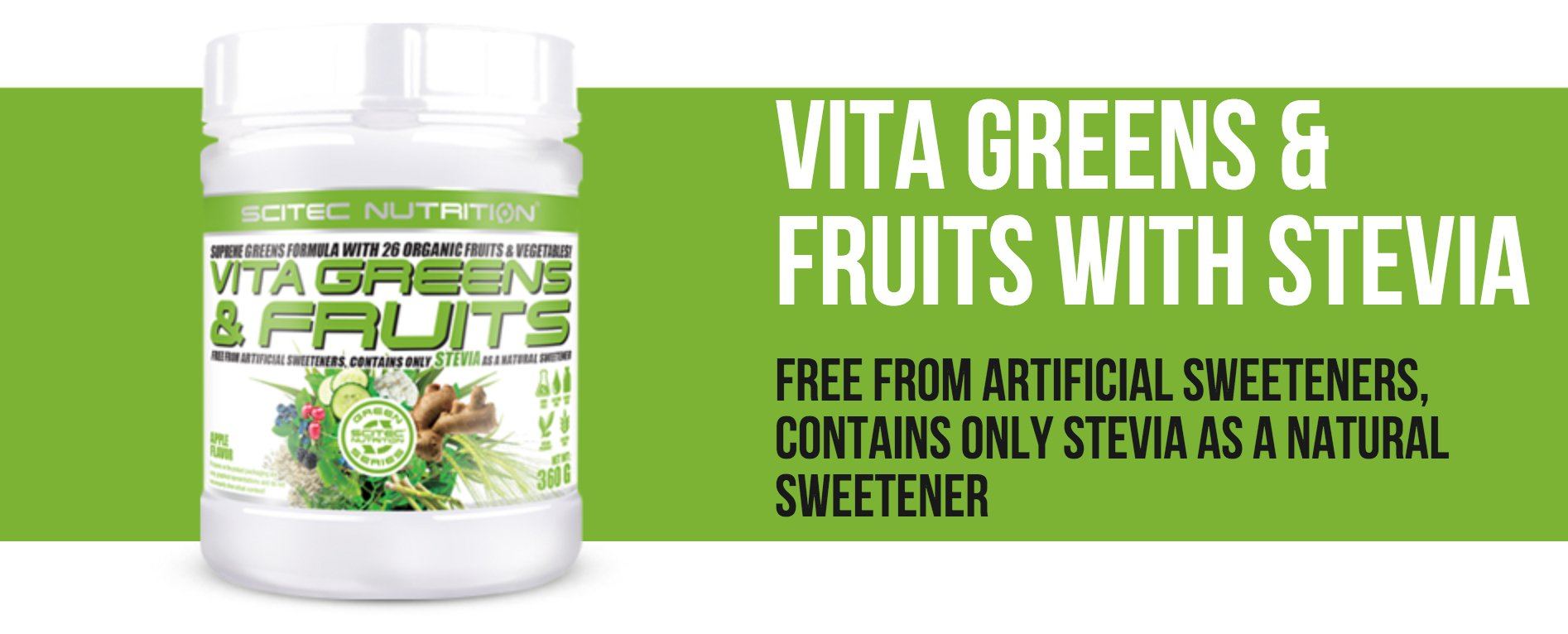 Vita Greens & Fruit 600g - Scitec Nutrition