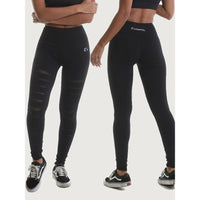 RIPT Ripped Mesh Leggings - - RIPT - Body-stuff.dk