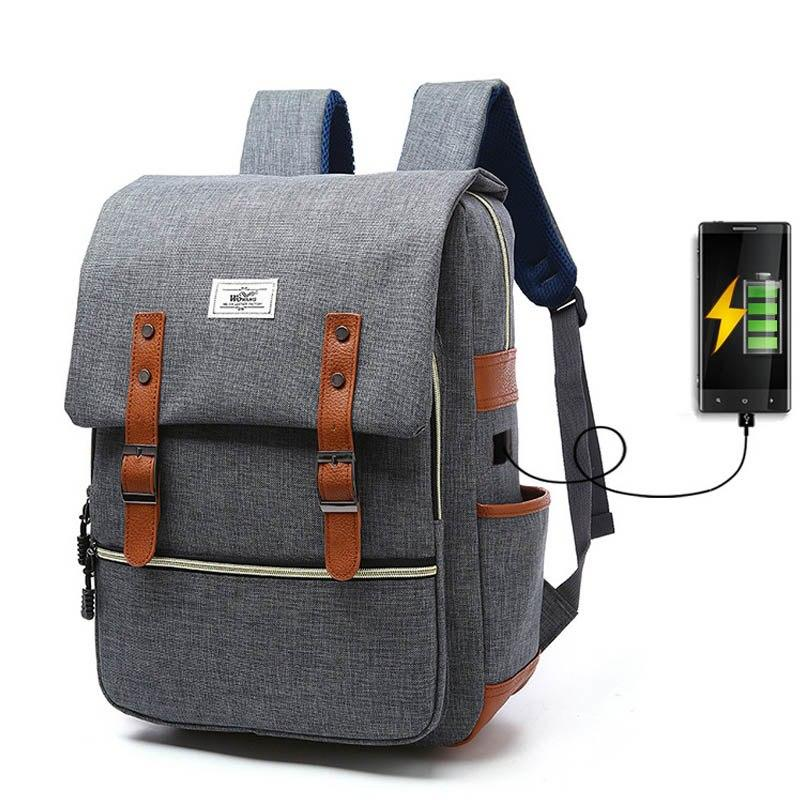 Laptop Backpack With USB Charging-FREE SHIPPING