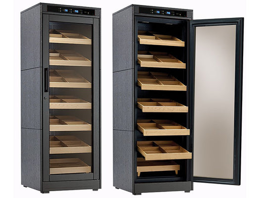 2000 Ct. Electric Climate/Humidity Controlled Cabinet (Black Oak)