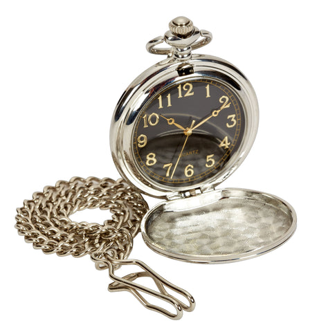 Personalised Pocket Watch and Chain