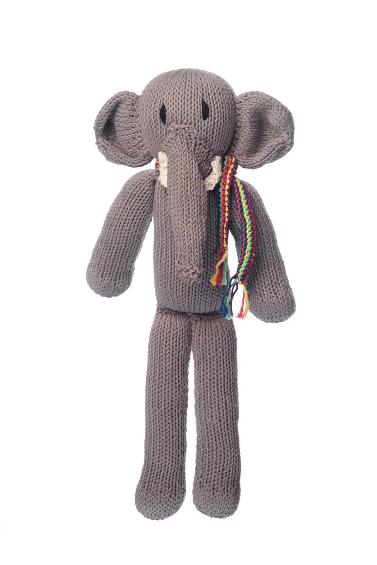 Kenana Spider Elefant - Medium - Økologisk bomull - Fair Trade