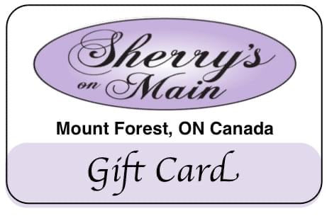Sherry's on Main Gift Card