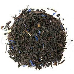 Loose Leaf Cream Earl Grey tea with cornflower petals.