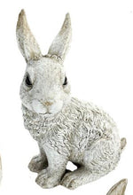 Charger l'image dans la galerie, Sitting White Bunny Figurine For  Home Decor.