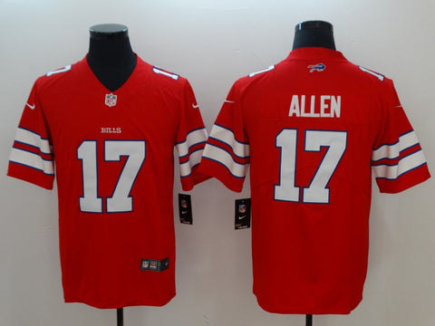Men's Buffalo Bills Josh Allen Nike Red Alternate Game Jersey