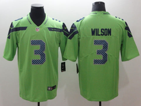 Men's Seattle Seahawks Russell Wilson Nike Game Player Jersey