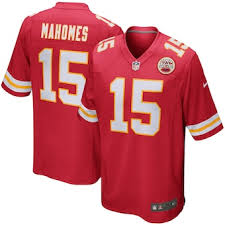 Men's Kansas City Chiefs Patrick Mahomes Nike Red Game Player Jersey