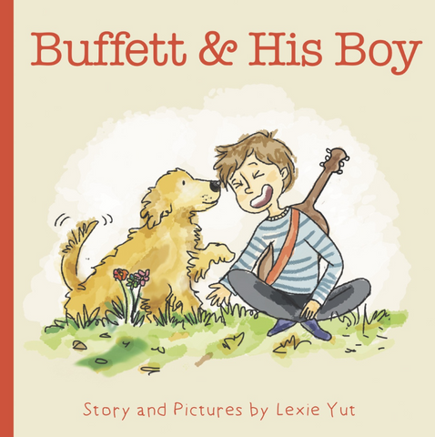 Buffett & His Boy by Lexie Yut