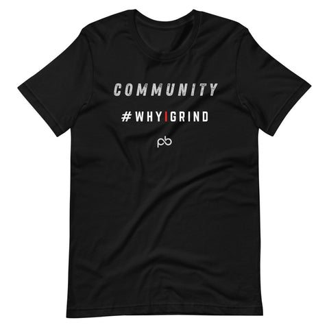 community - why i grind (white letters)