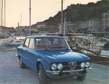 Load image into Gallery viewer, Giulia Super and TI Models Including NUOVA from 1962 to 1977
