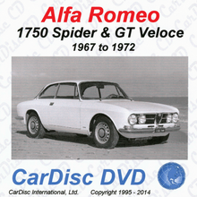 Load image into Gallery viewer, 1750 Spider and GTV Models from 1967 to 1972