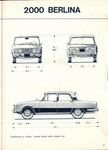 Load image into Gallery viewer, Berlina Models from 1968 to 1976