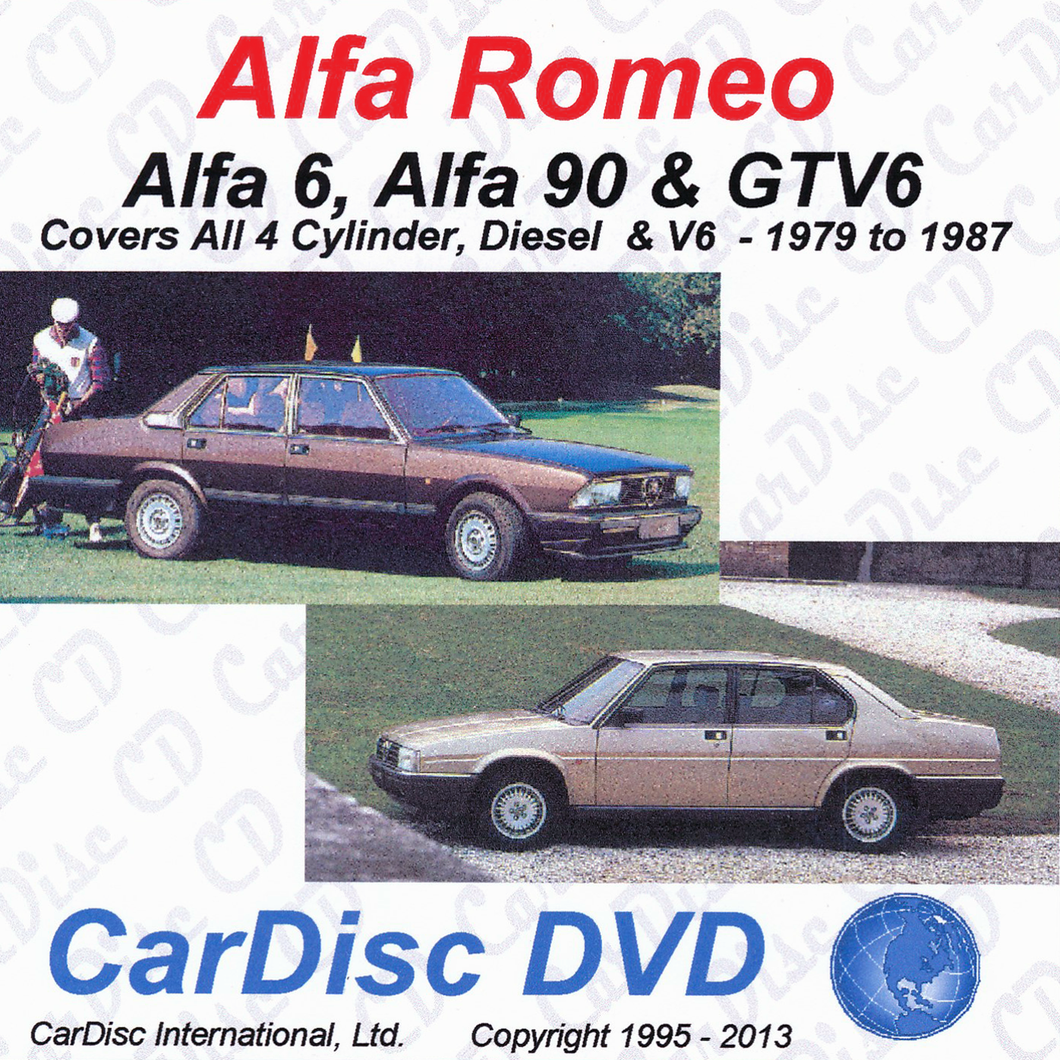 Alfa 6 and Alfa 90 Models from 1979 to 1987