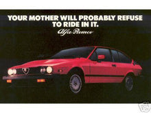 Load image into Gallery viewer, Alfa GTV-6 Models from 1980 to 1986