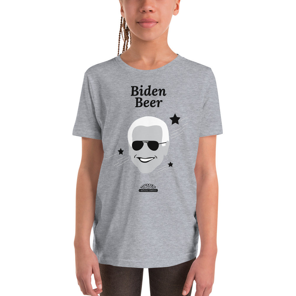 Biden Beer Kids Short Sleeve T-Shirt